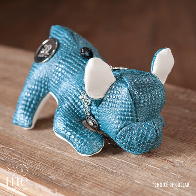 Crocodile Tears, Blue, French Bulldog Playing Plush, Teacup/Small/Large
