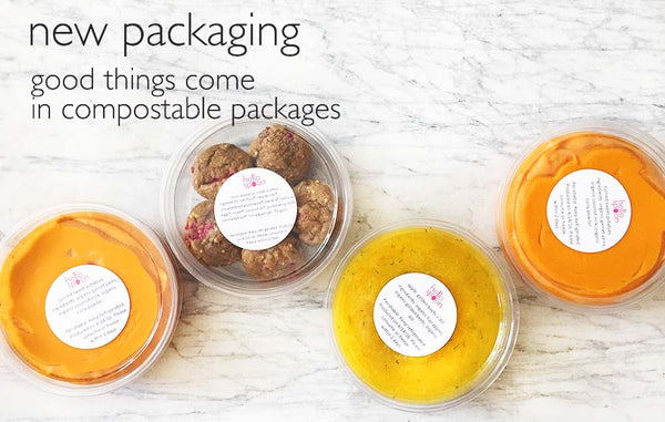 New Compostable Packaging