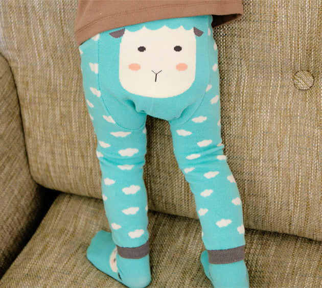 Cloud and Sheep PP Pants and Socks Set