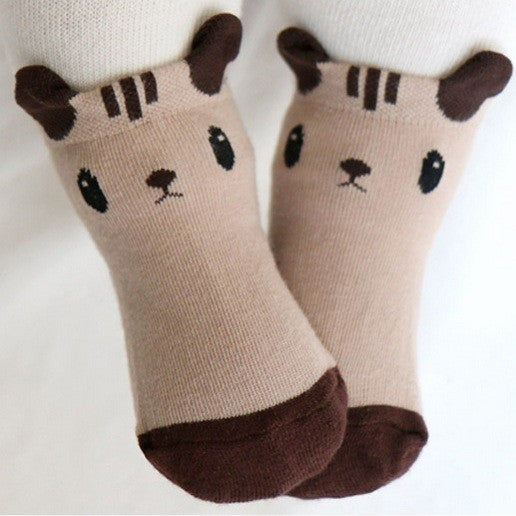 Squirrel Ear Socks