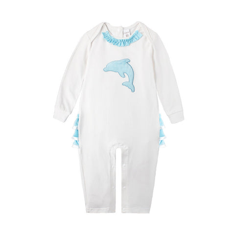 Dolphin Ruffles Jumpsuit