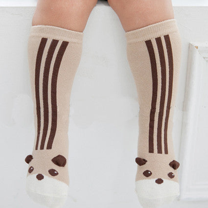 Little Bear Knee Socks