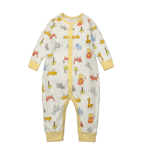 Animals Print Sleepsuit