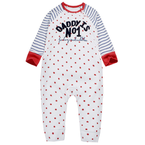 Daddy No1 Sleepsuit
