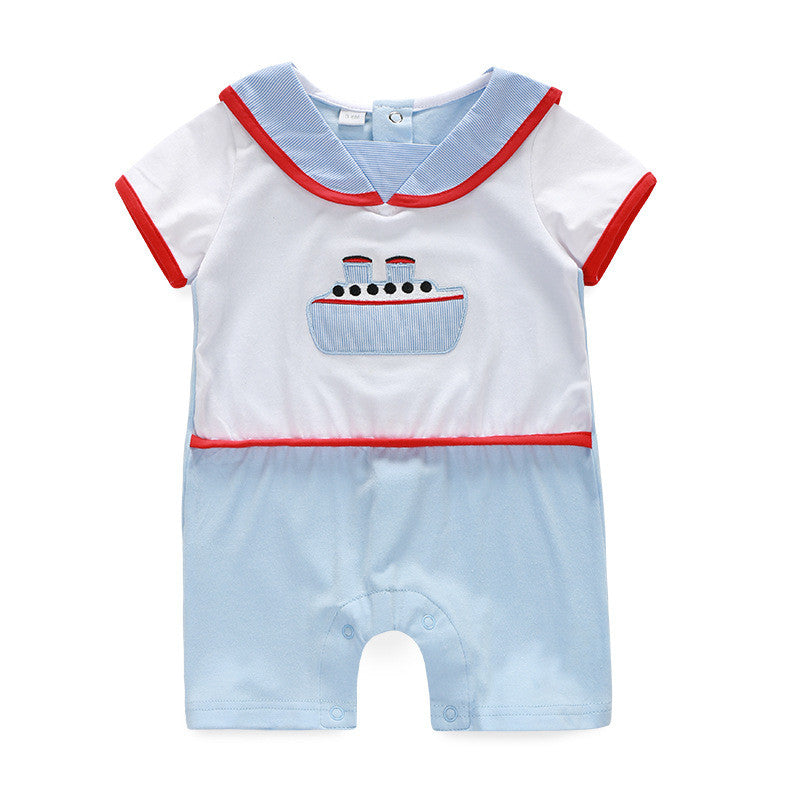 Sailor Crew Romper