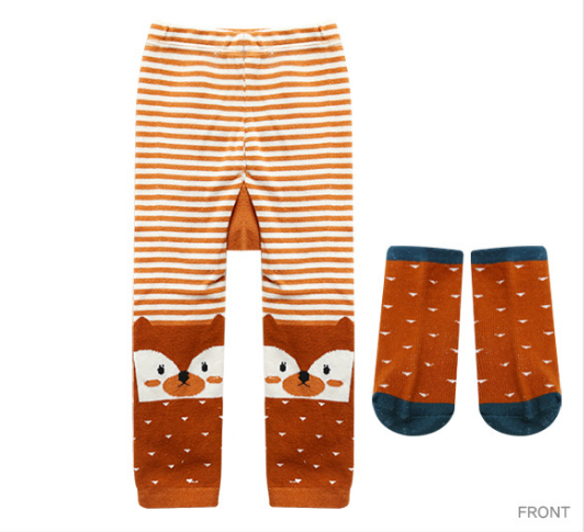 Fox PP Pants and Socks Set