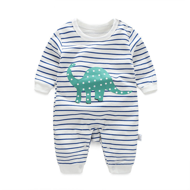 Stripes Dinosaur Jumpsuit