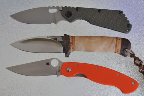 Rosarms Messer-1 and folders