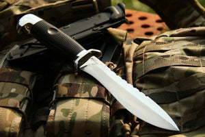 Kisten - handmade tactical knife from Rosarms