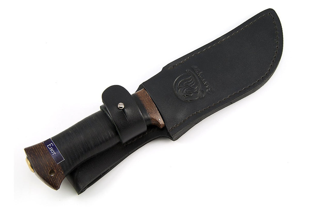 Rosarms hunting knife Raccoon in the sheath