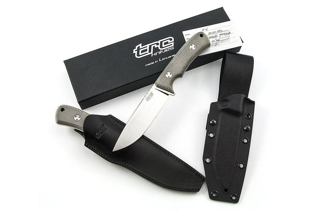 K-1 GCM custom knife by TRC knives all included