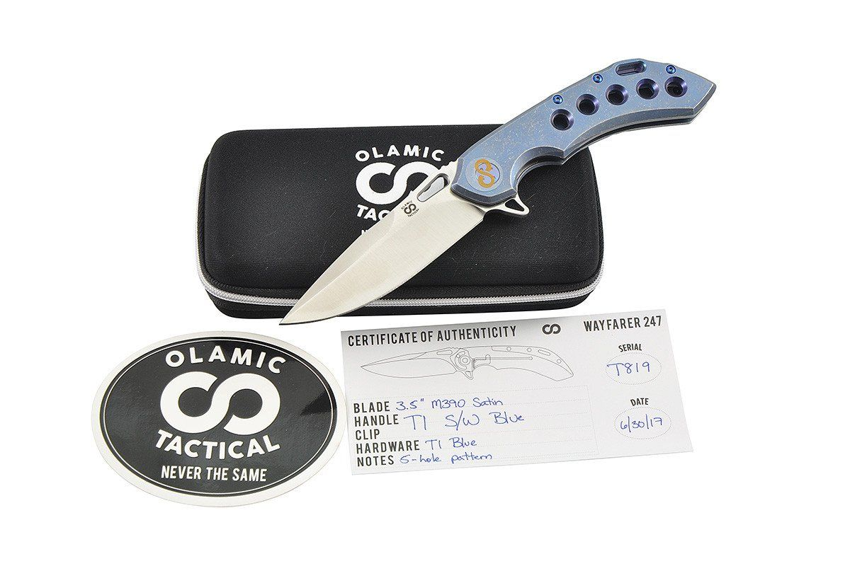 Wayfarer 247 Blue 5-Holes from Olamic Tactical, all included