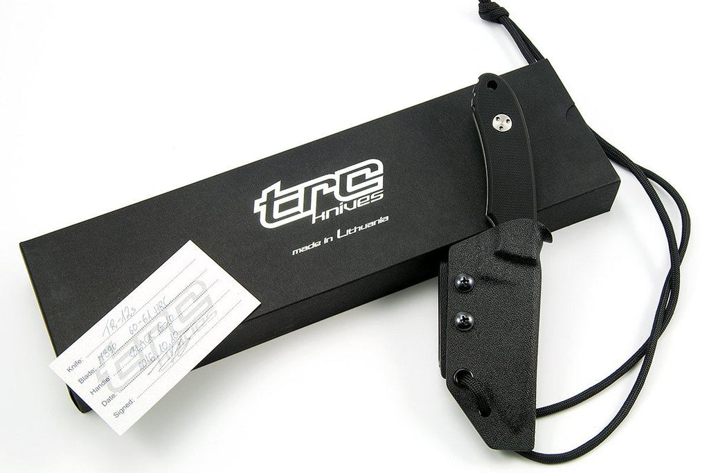TR-12s custom knife from TRC knives, in the box