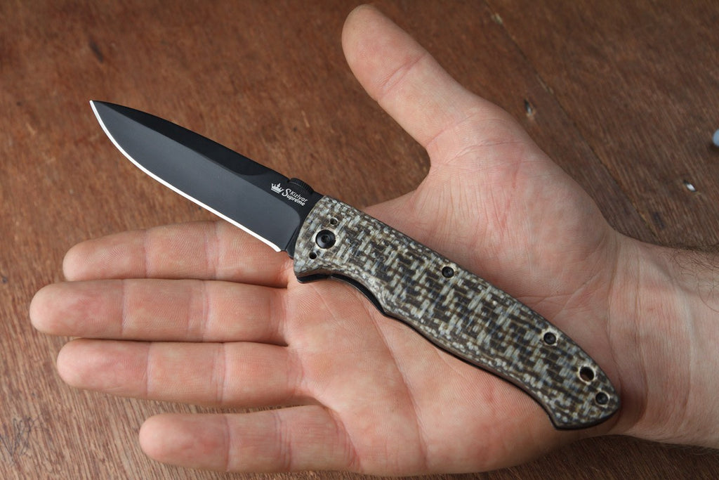 Vega Folding Knife From Kizlyar Supreme