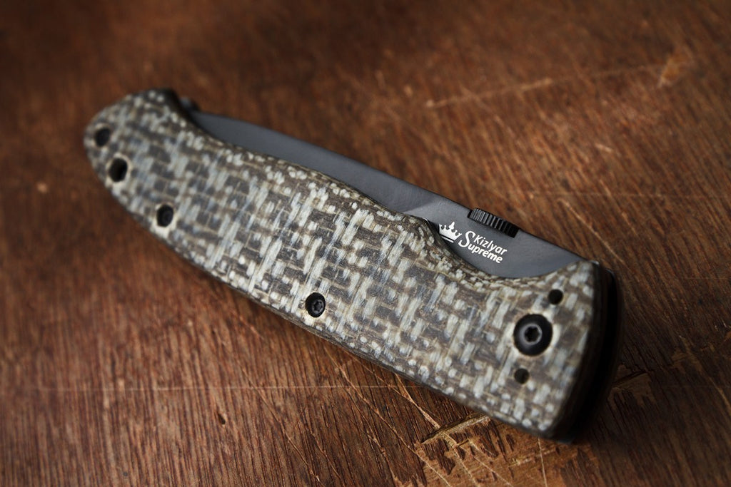 Vega Folding Knife From Kizlyar Supreme In Closed Position