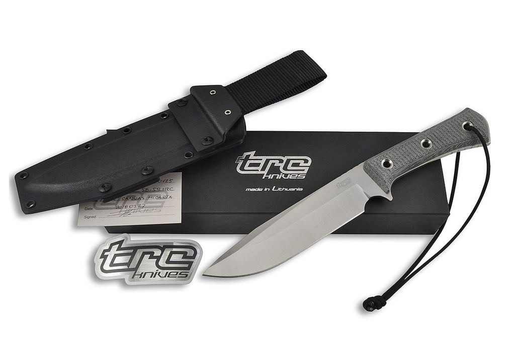 Apocalypse-L - custom survival knife by TRC, all included