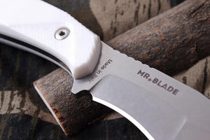 Hardy - outdoorsman knife by Mr. Blade, details