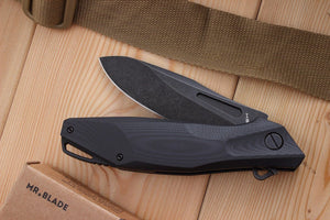 Hemnes folding knife by Mr. Blade, details.