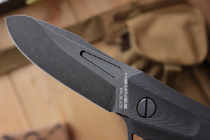 Hemnes folding knife by Mr. Blade, blade details.