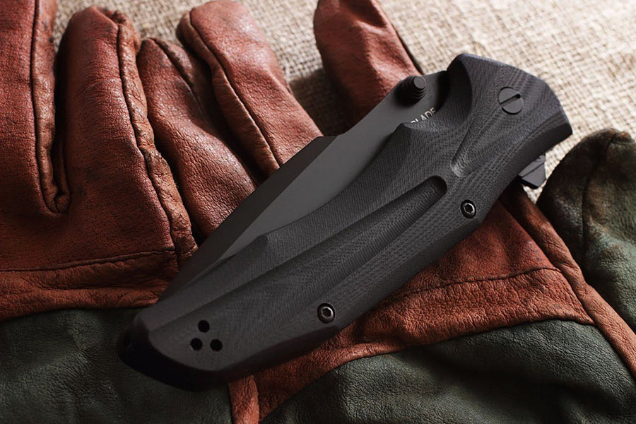 HT-2 - larger folding knife by Mr. Blade
