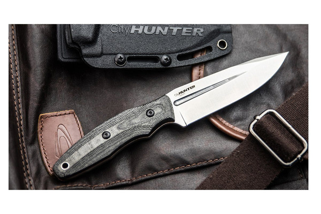 CityHunter - EDC knife by Kizlyar Supreme, other side