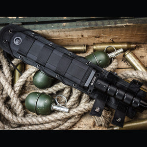 Survivalist Z D2 With Black Ti Coating Knife In Sheath From Kizlyar Supreme