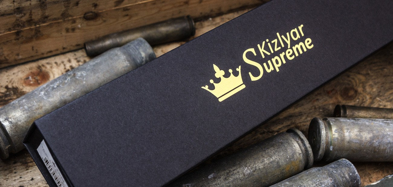 Survivalist X D2 Knife In Box From Kizlyar Supreme