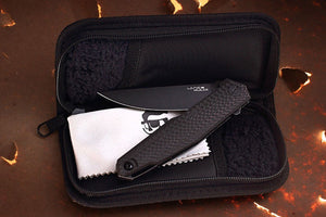 knife comes with the zipper pouch