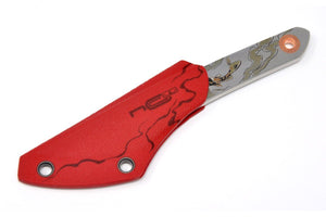 awesome red kydex sheath