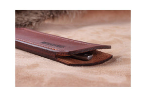 Lucky Cut by Brutalica comes with leather sheath