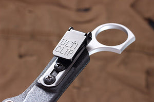 Ulti Clip tactical clip on the sheath