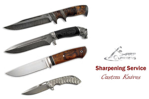 Knives Sharpening, Custom Knives