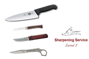 Knives Sharpening, Level 1