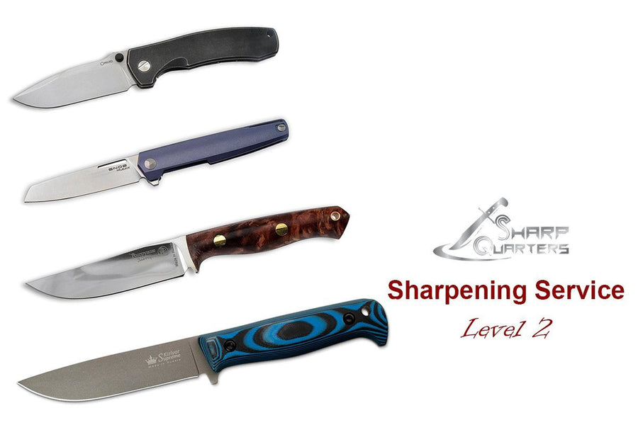 Knives Sharpening, Level 2