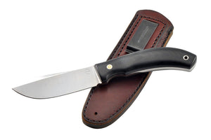 The Skinner-3 by DED knives with the leather sheath
