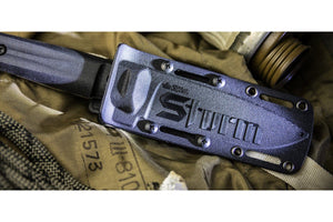Sturm - tactical knife by Kizlyar Supreme, in the sheath