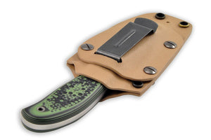 Thunder knife in the Kydex sheath