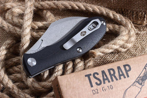 Tsarap Folder by Brutalica Knives, folded