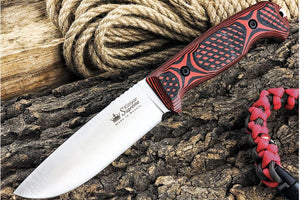 beautiful and tough Ural knife