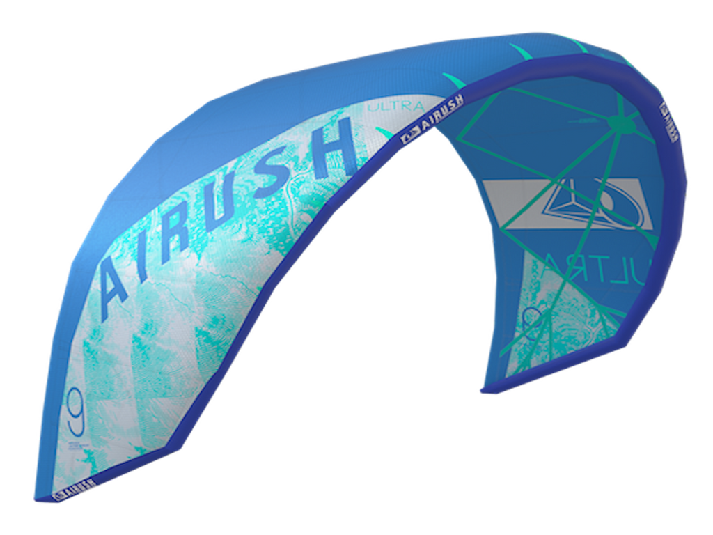 The new AIRUSH ULTRA weighs in at 3.7 pounds, the lightest LEI kite on the market.