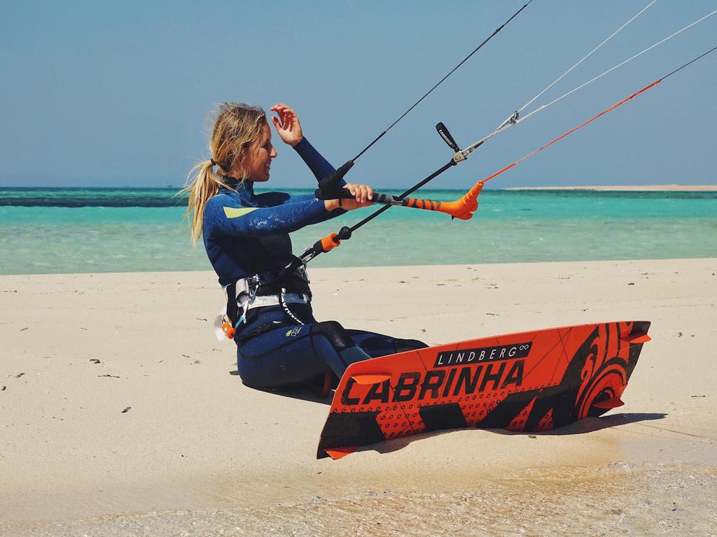 The professional women kiters of our time.