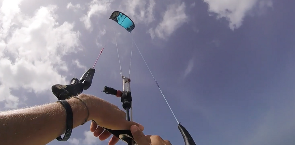 How to fix kitesurf lines when your kite inverts.