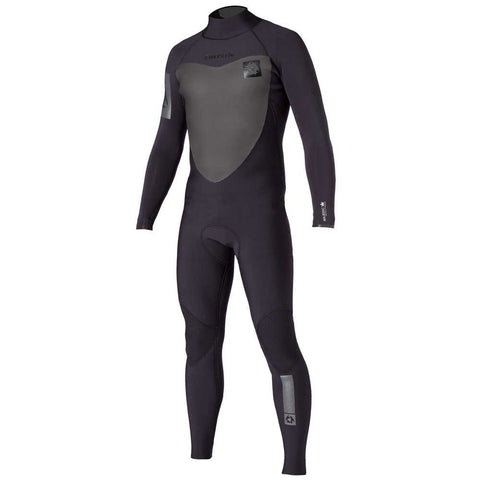 Mystic Majestic 3/2 Fullsuit Backzip Black