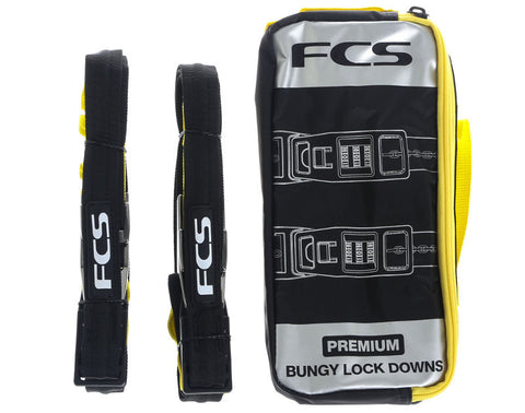 FCS Premium Bungy Lock Downs - OESPADDLEBOARDING - 1