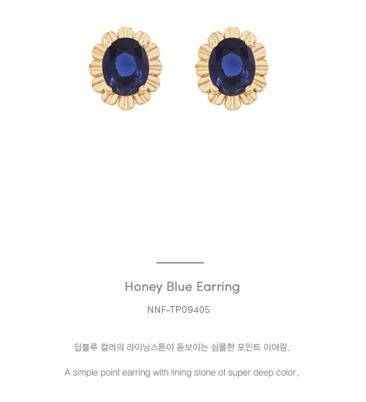 Honey Blue Earring・TP09405
