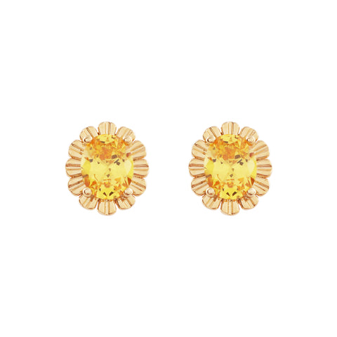 Honey Yellow Earring・TP09406