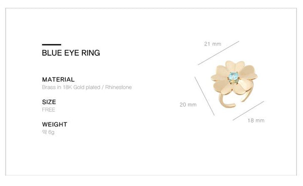 Blue Eye Ring・GF03102