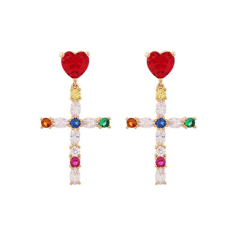 Colouring Heart Earring・NHMC1ER04