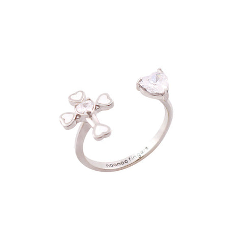 Cross Heart Ring・NHSERN07
