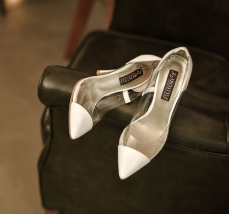 Isabelle高跟婚鞋・RS150215(Ivory)